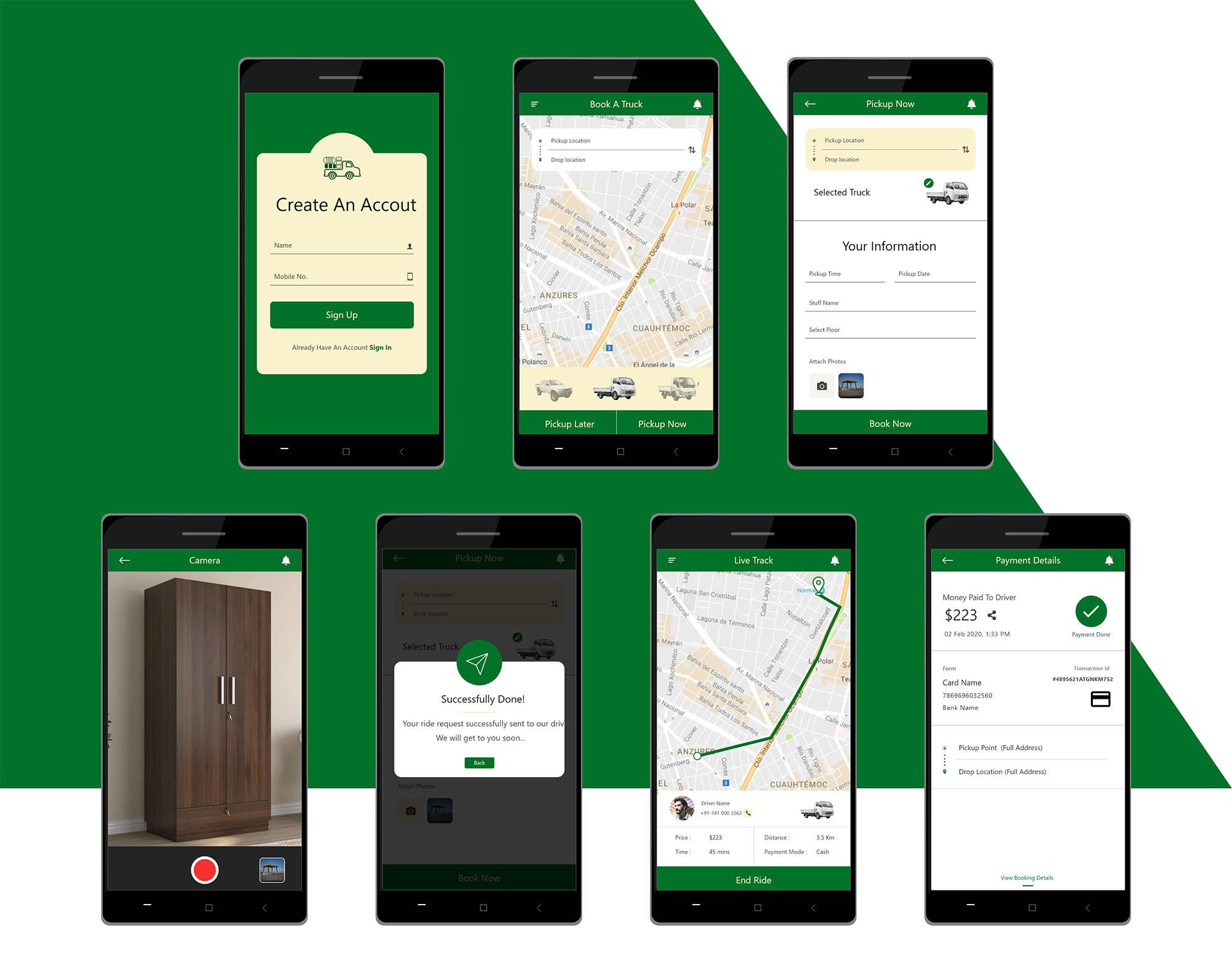 Metroit Media App Concept