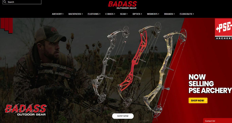 Outdoor Gear Website Preview