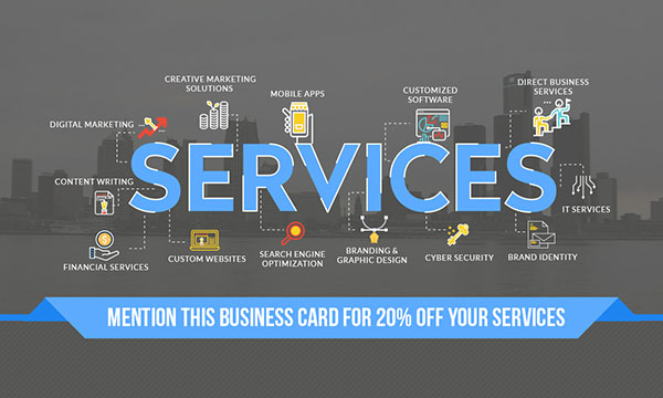 Metroit Media Services Card