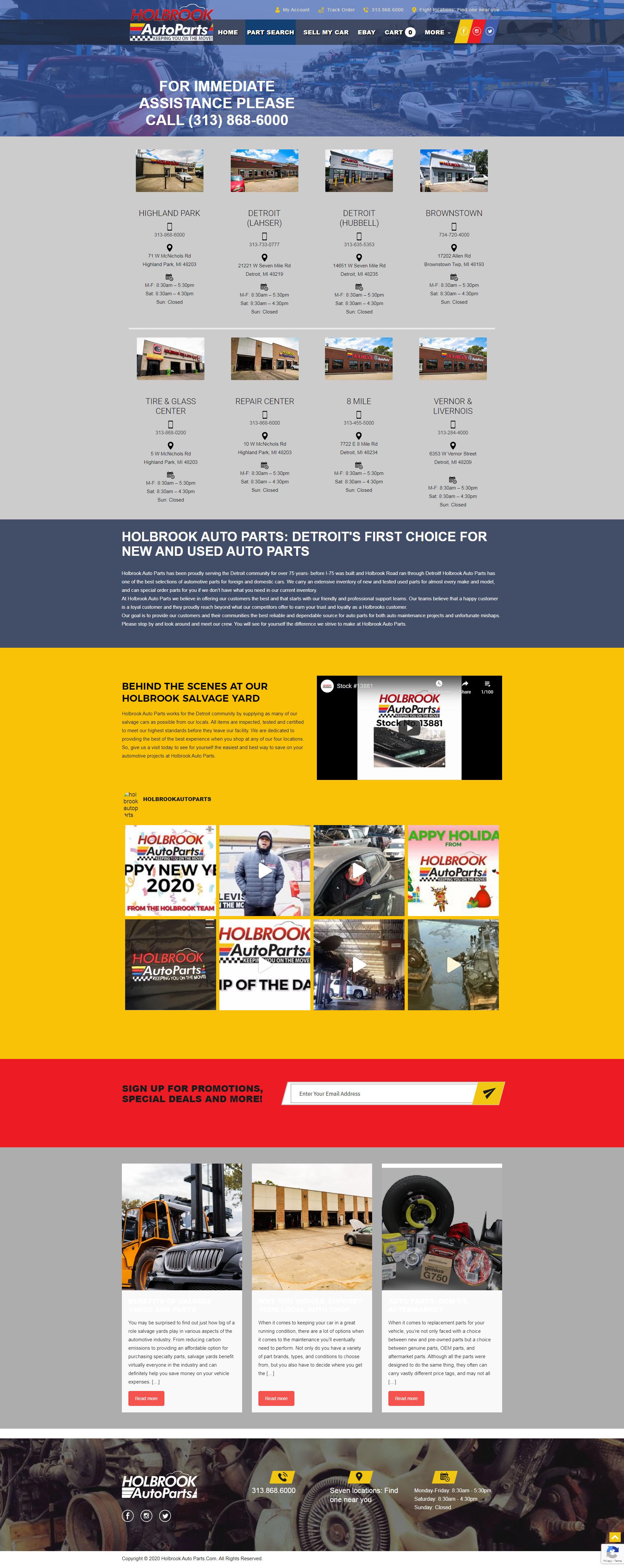Holbrook Homepage