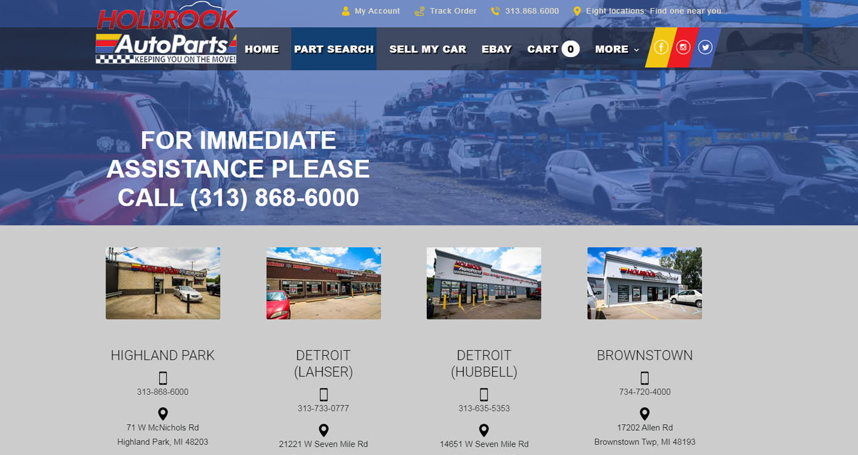 Holbrook Website Preview